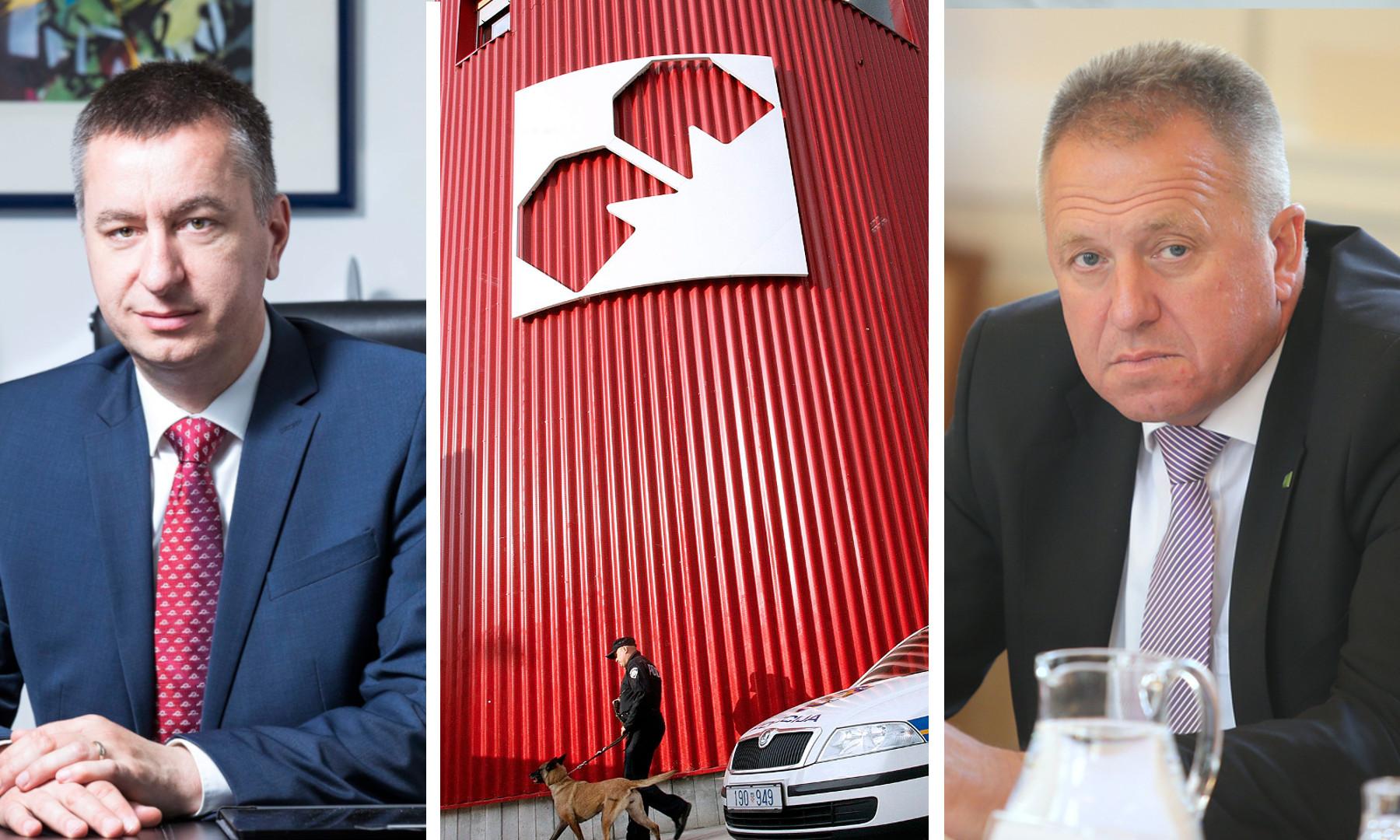Fabris Peruško i ministar za gospodarski razvoj i tehnologiju Republike Slovenije Zdravko Počivalšek