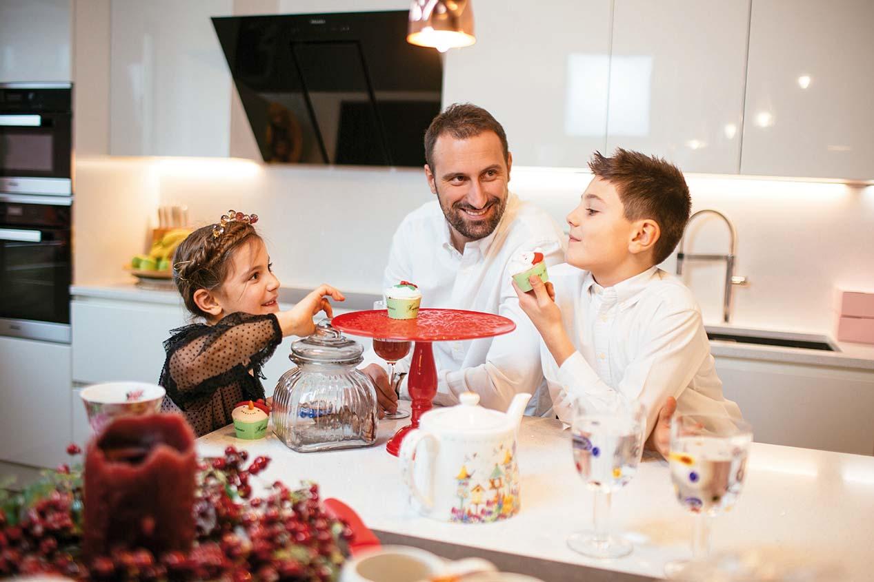 zagreb 07.12.2019 Igor , olja, sin petar i kcerka nika vori foto vedran peteh