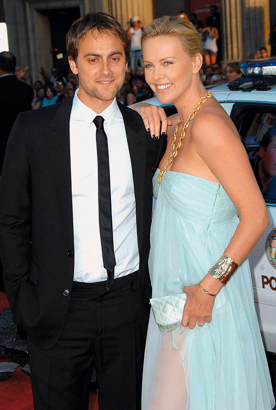 Charlize Theron, Stuart Townsend at arrivals for HANCOCK  Premiere, Grauman's Chinese Theatre, Hollywood, CA, June 30, 2008., Image: 96989826, License: Rights-managed, Restrictions: , Model Release: no, Credit line: David Longendyke / Everett / Profimedia