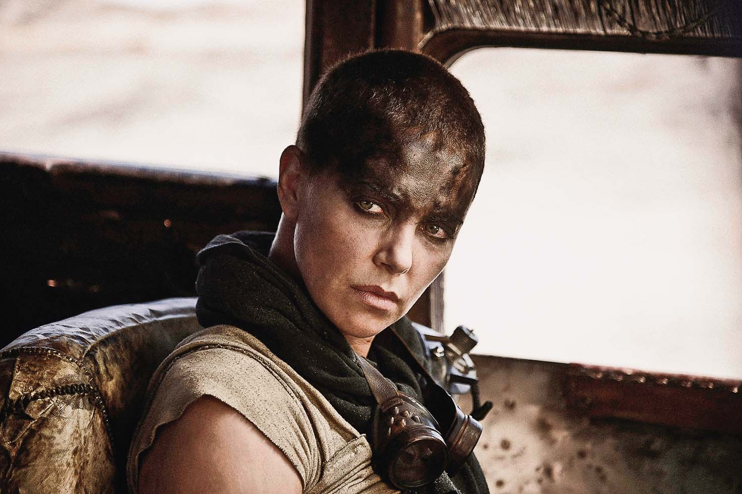 MAD MAX: FURY ROAD (2015) - CHARLIZE THERON., Image: 203330045, License: Rights-managed, Restrictions: Editorial use only. No merchandising or book covers. This is a publicly distributed handout. Access rights only, no license of copyright provided., Model Release: no, Credit line: VILLAGE ROADSHOW - Album / Album / Profimedia