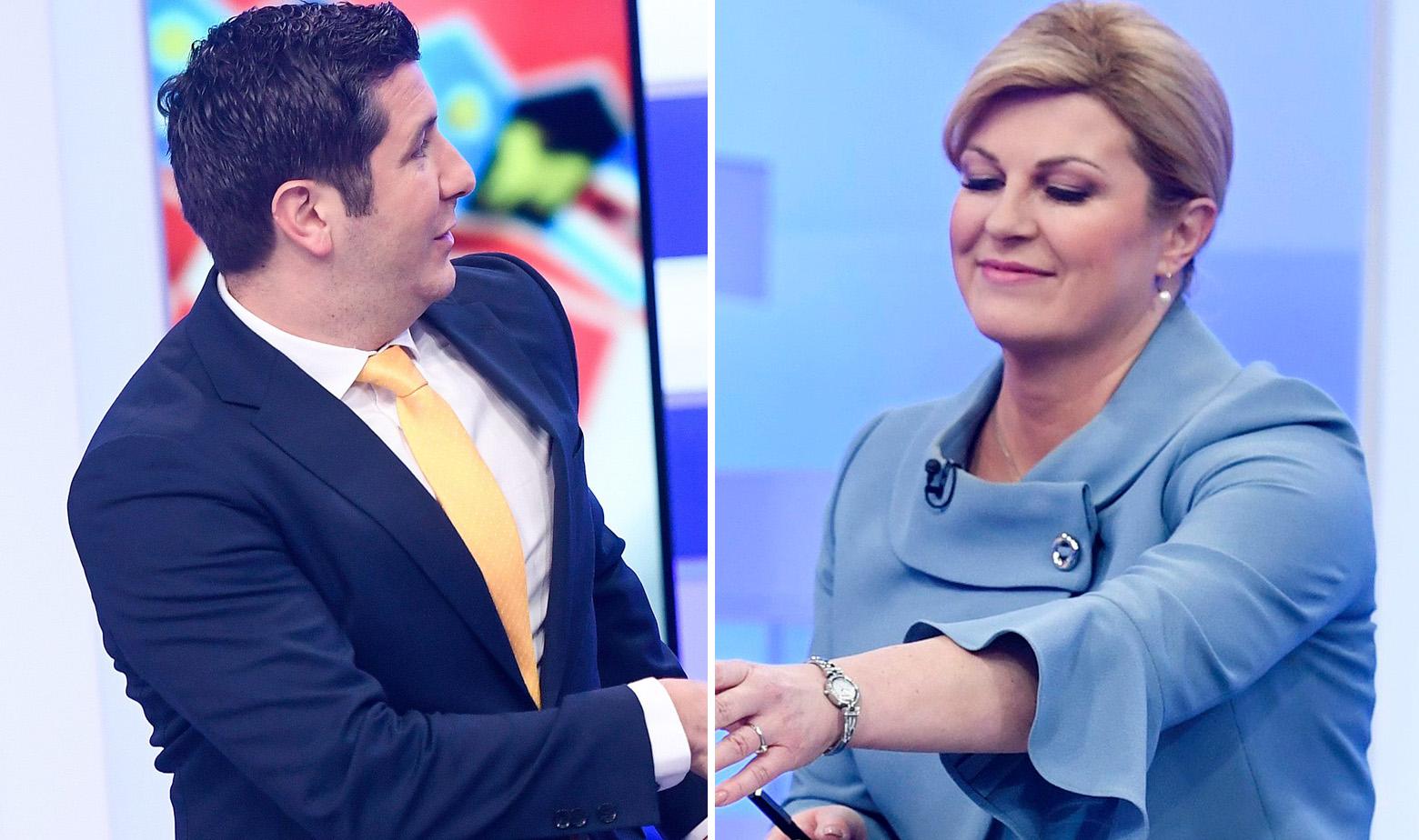Dejan Kovač i Kolinda Grabar Kitarović