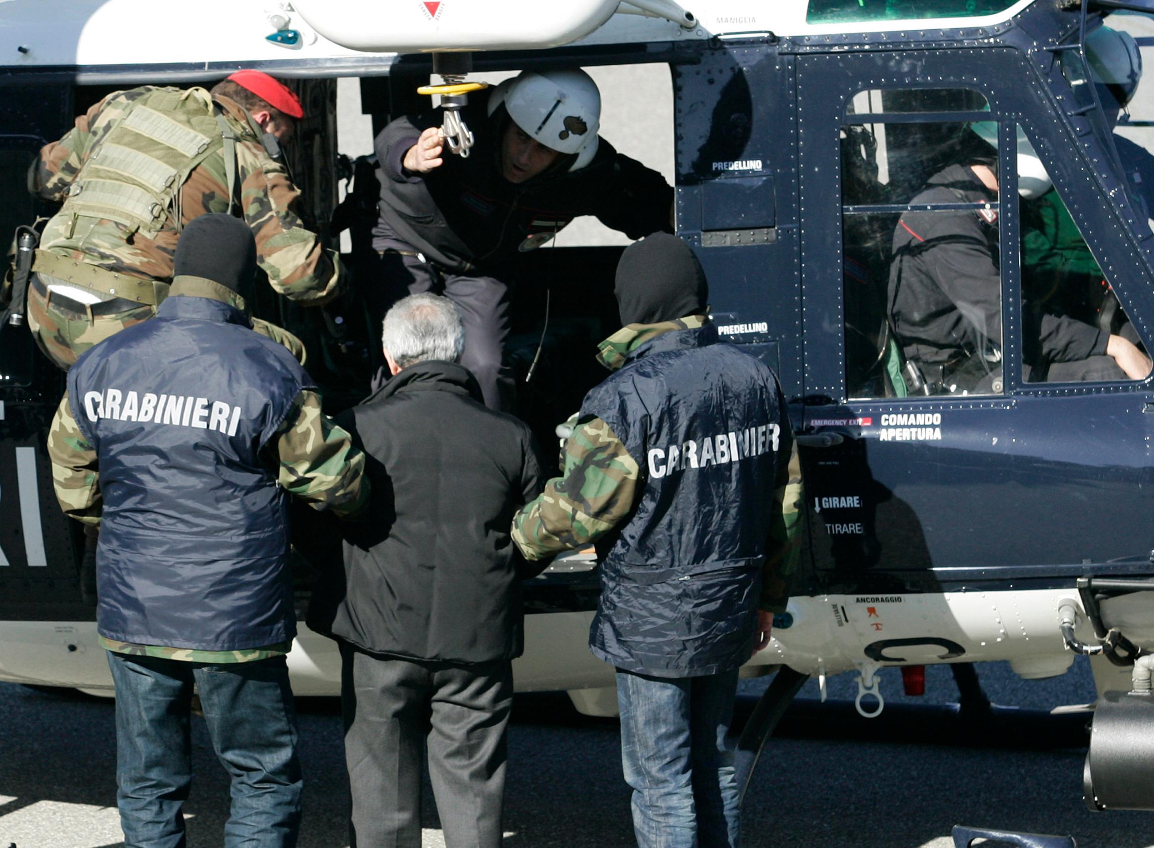 Uhićenja članova 'Ndranghete (arhivska fotografija)