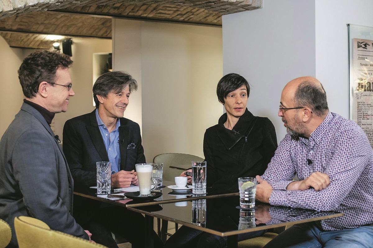 Jelena Berković, Kresimir Macan, Boško Picula.