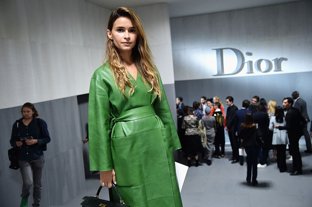 PARIS, FRANCE - SEPTEMBER 30: Miroslava Duma attends the Christian Dior show as part of the Paris Fashion Week Womenswear  Spring/Summer 2017  on September 30, 2016 in Paris, France.  (Photo by Jacopo Raule/Getty Images for Dior)