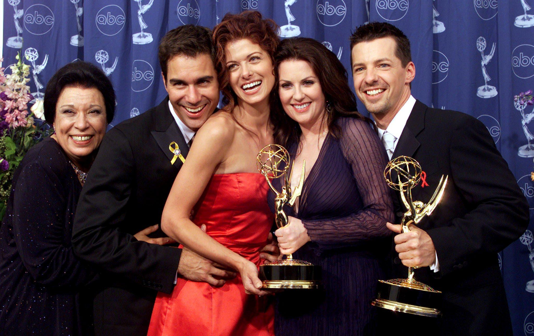 Ekipa serije 'Will i Grace': Shelley Morrison, Eric McCormack, Debra Messing, Megan Mullally i Sean Hayes