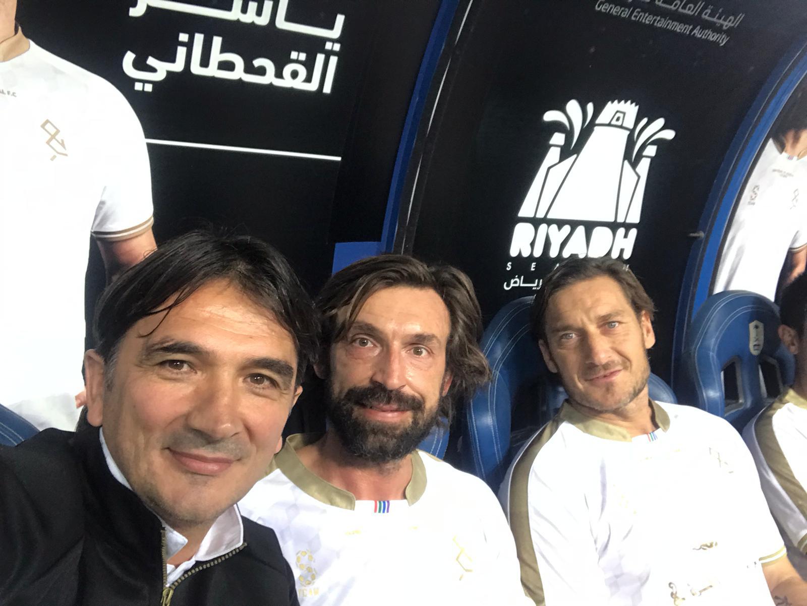 Zlatko Dalić, Andrea Pirlo i Francesco Totti