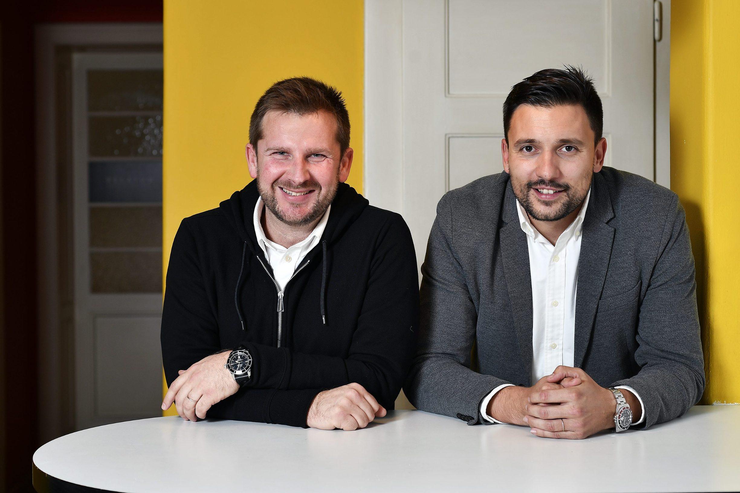 Igor Kordić i Tomislav Zovko, suosnivači tvrtke Irundo