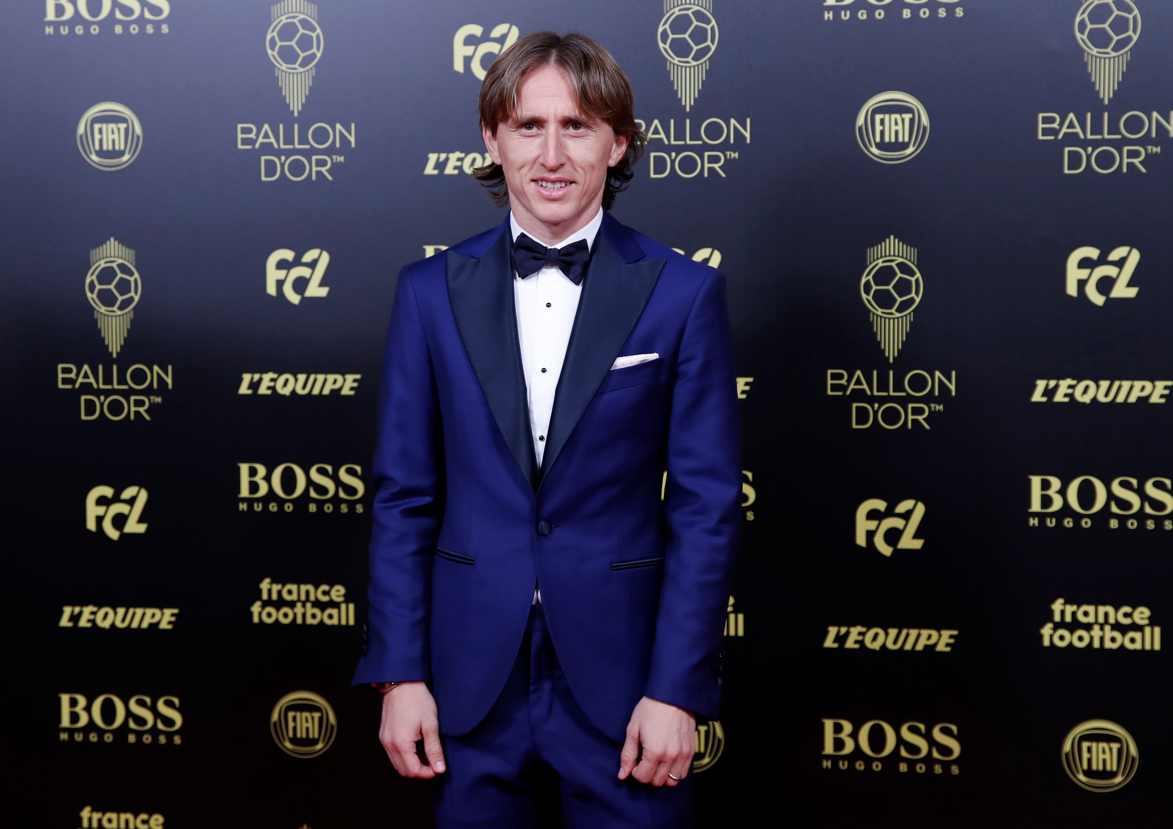 Soccer Football - The Ballon dOr awards - Theatre du Chatelet, Paris, France - December 2, 2019   Real Madrid's Luka Modric arrives  REUTERS/Christian Hartmann - RC27ND9IXV9Y
