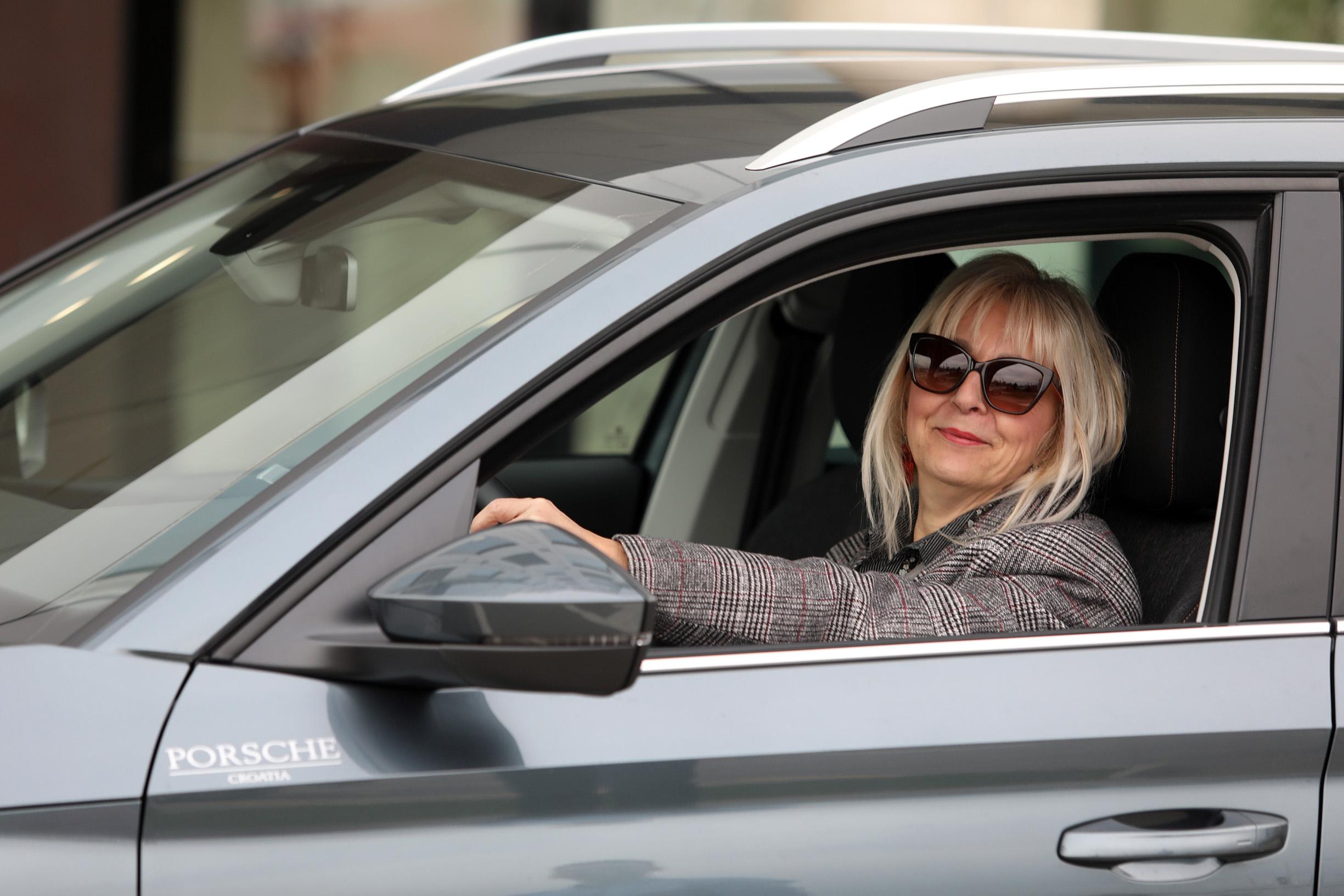 Zagreb, 271119. Porsche Hrvatska Renata Haramija koja je dobila Skodu Kamiq na koristenje. Foto: Ranko Suvar / CROPIX