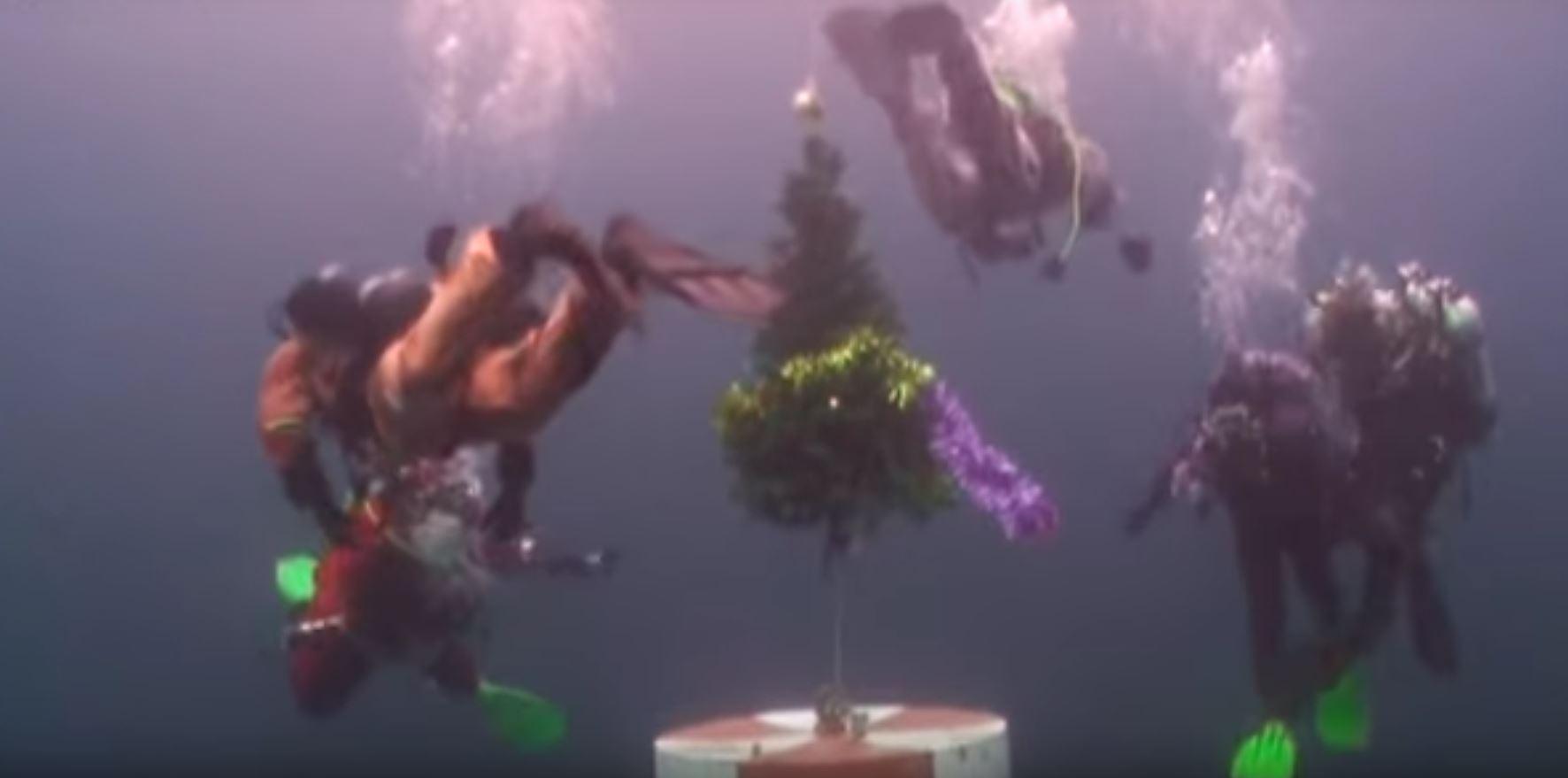 bajkalsko jezero božićno drvce
