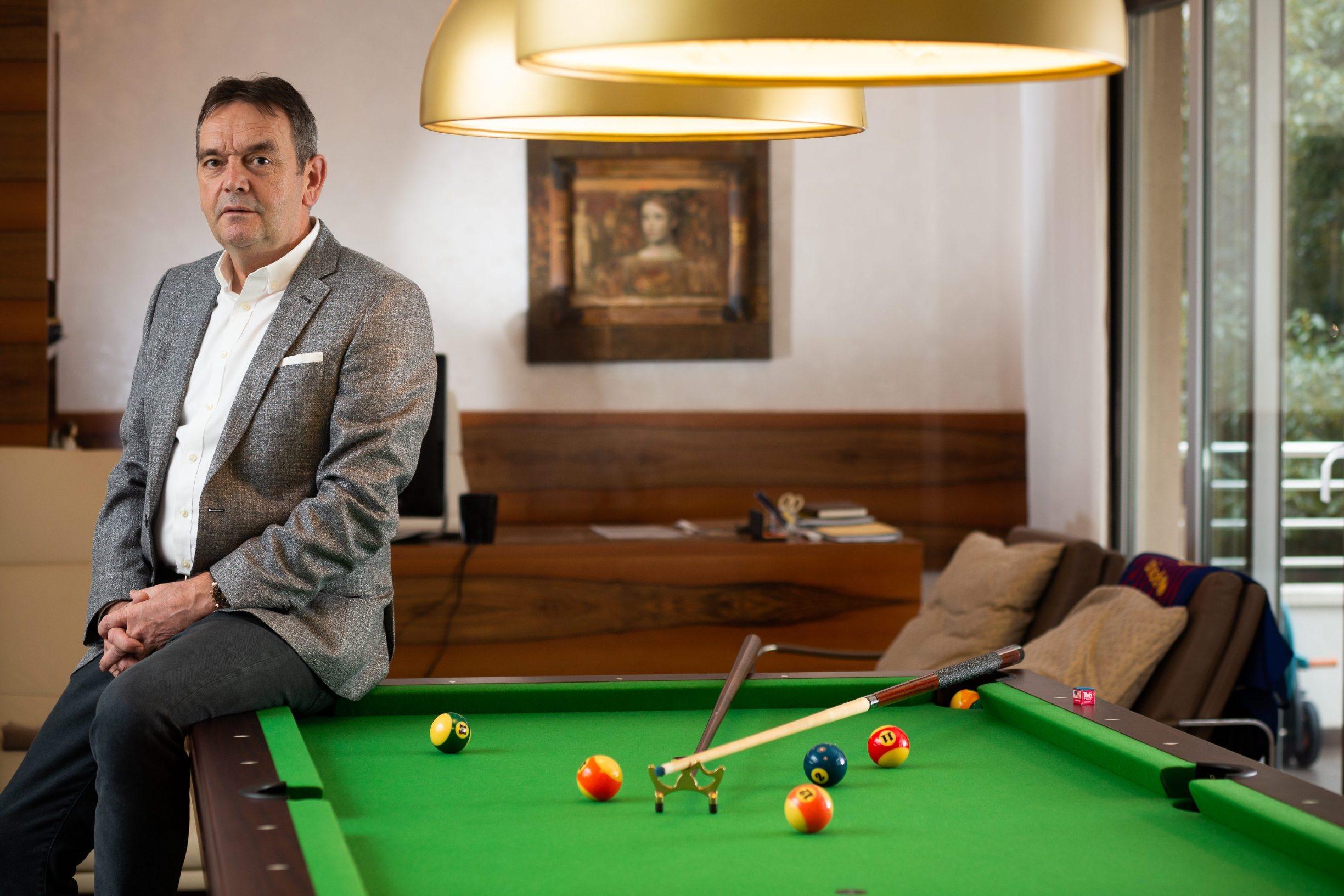 Tomislav Mamić, hrvatski poduzetnik, predsjednik Nadzornog odbora i vlasnik splitskog trgovinskog lanca Tommy