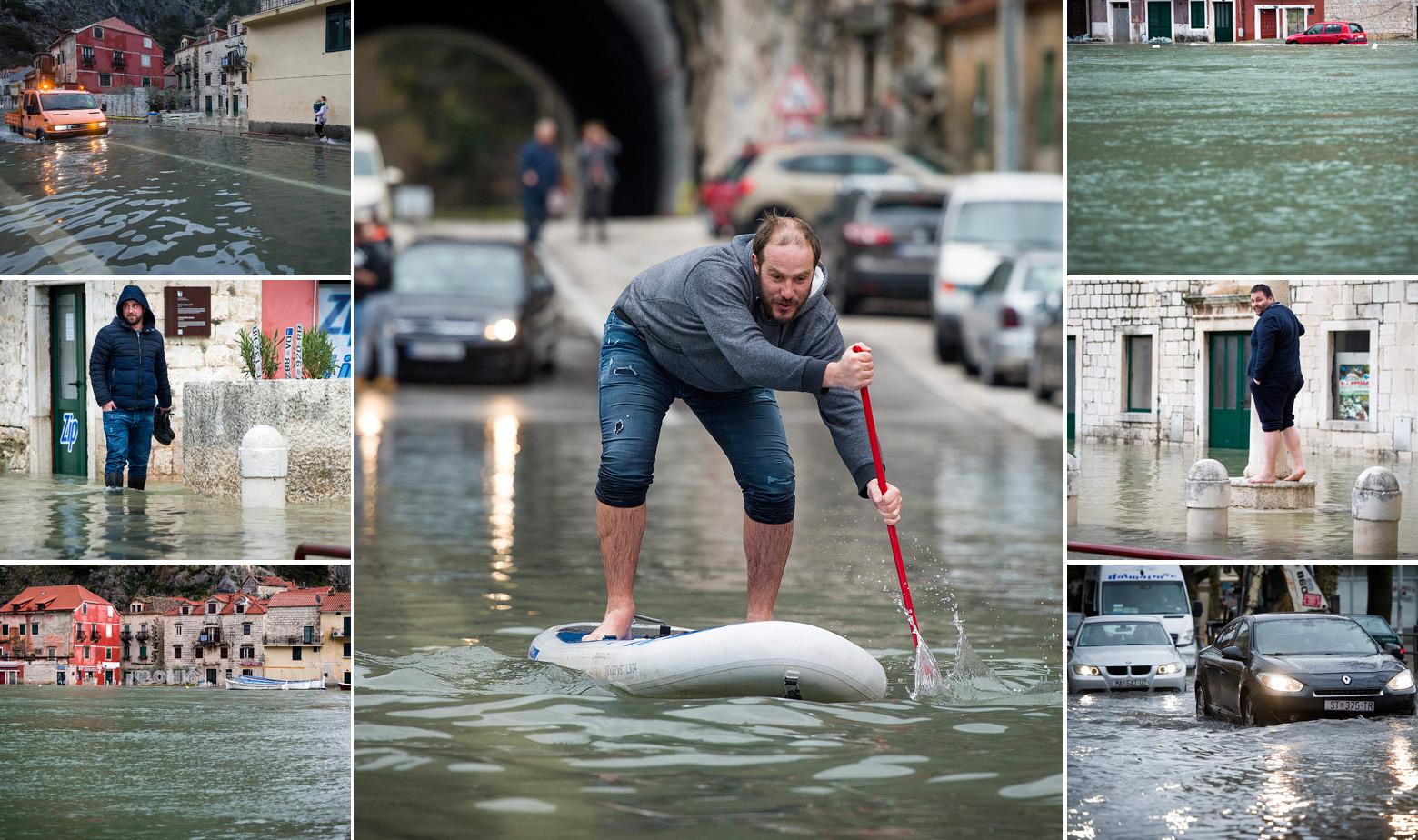 Poplava u Omišu