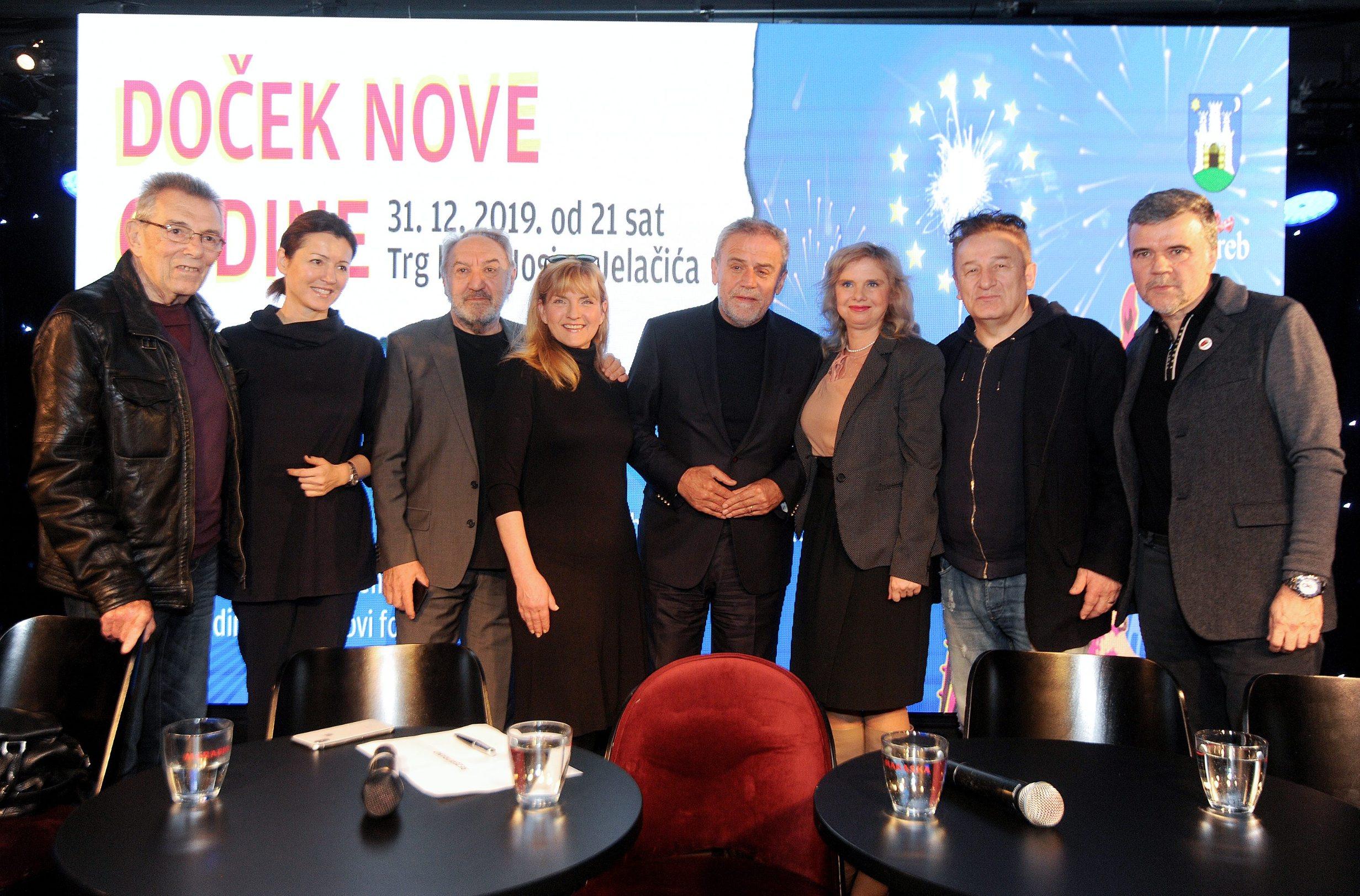 Novi fosili, Martina Bienenfeld, Milan Bandić, Milana Vuković Runjić i Prljavo kazalište