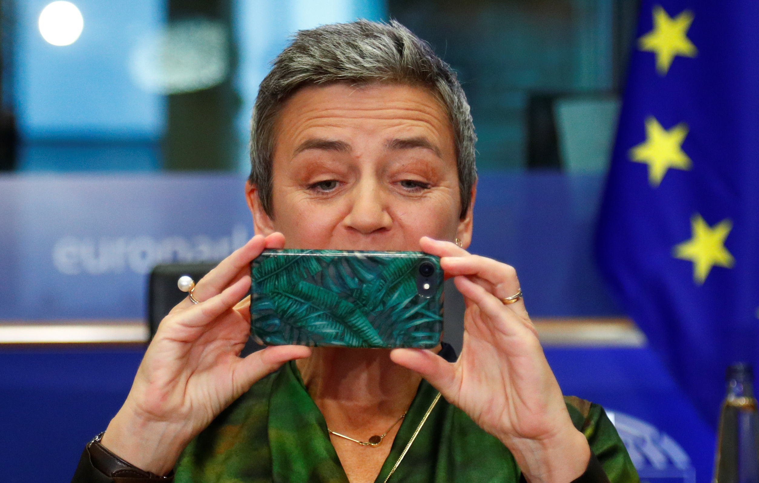 Europska povjerenica Margarethe Vestager