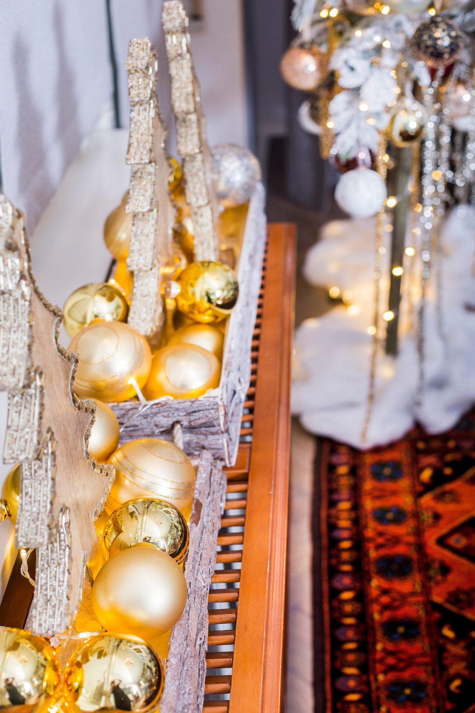 Zagreb, 261119. Bozicno uredjen i dekoriran stan dizajnerice Snjeske Kozulj. Snjeska inace uredjuje i dekorira interijere i promotorica je vrtnog centra MBM-a. Foto: Berislava Picek/ CROPIX