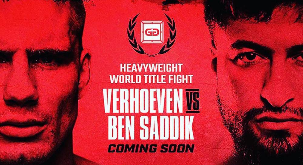Plakat za prvi meč Verhoevena i Jamala u Gloryju