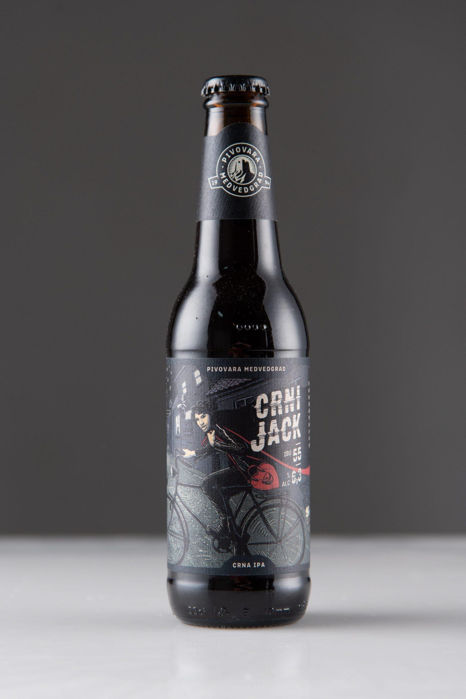 Zagreb, 241119 Test bozicnih tamnih piva. Na slici je: Crni jack pivo. Foto: Marko Miscevic / Cropix
