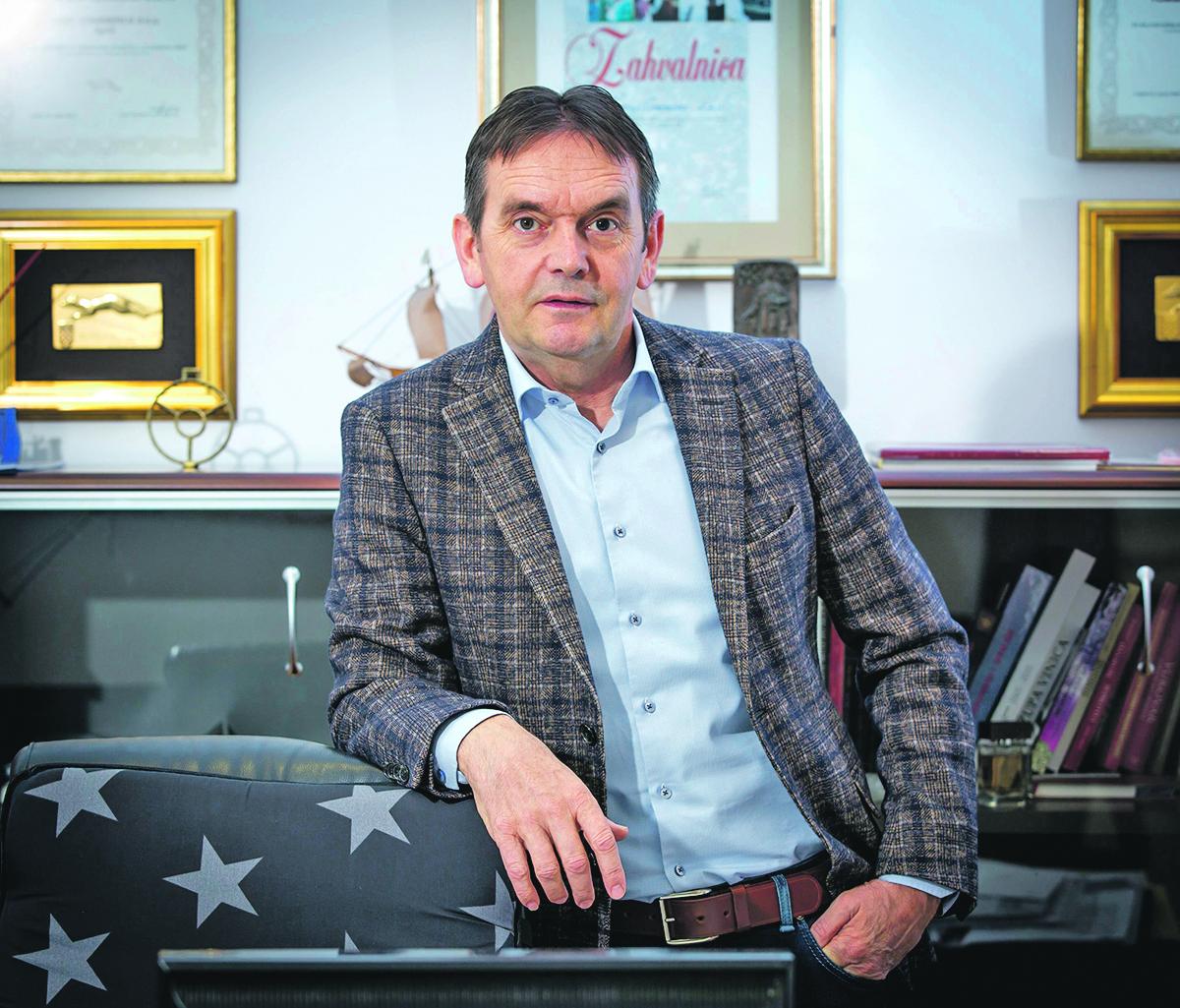 Split, 160117. Tomislav Mamic, vlasnik i predsjednik uprave tvrtke Tommy. Foto: Vojko Basic / CROPIX