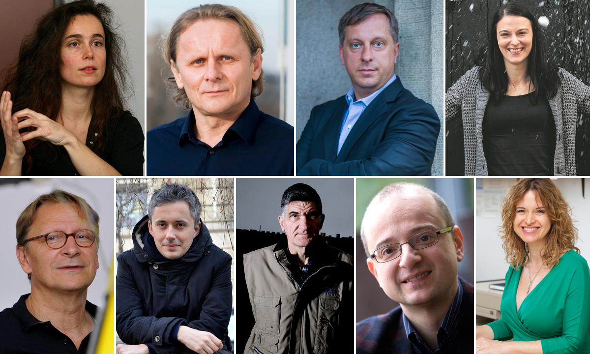 Dijana Dominis Prester, Ivan Đikić, Marin Soljačić, Vernesa Smolčić; Bojan Jerbić, Ivan Guettler, Ante Radonić, Igor Rudan i Iva Tolić