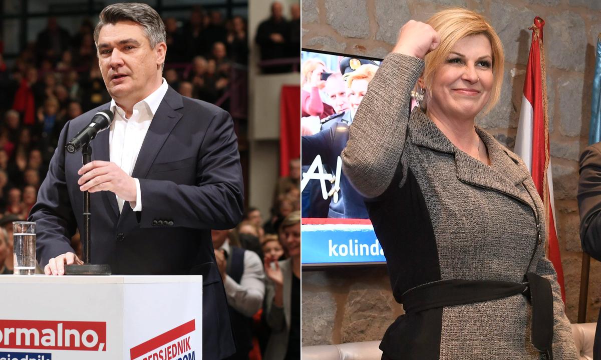 Zoran Milanović, Kolinda Grabar-Kitarović