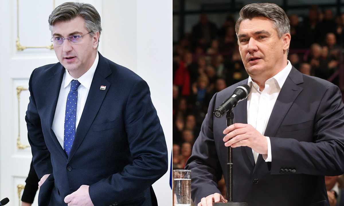 Andrej Plenković, Zoran Milanović