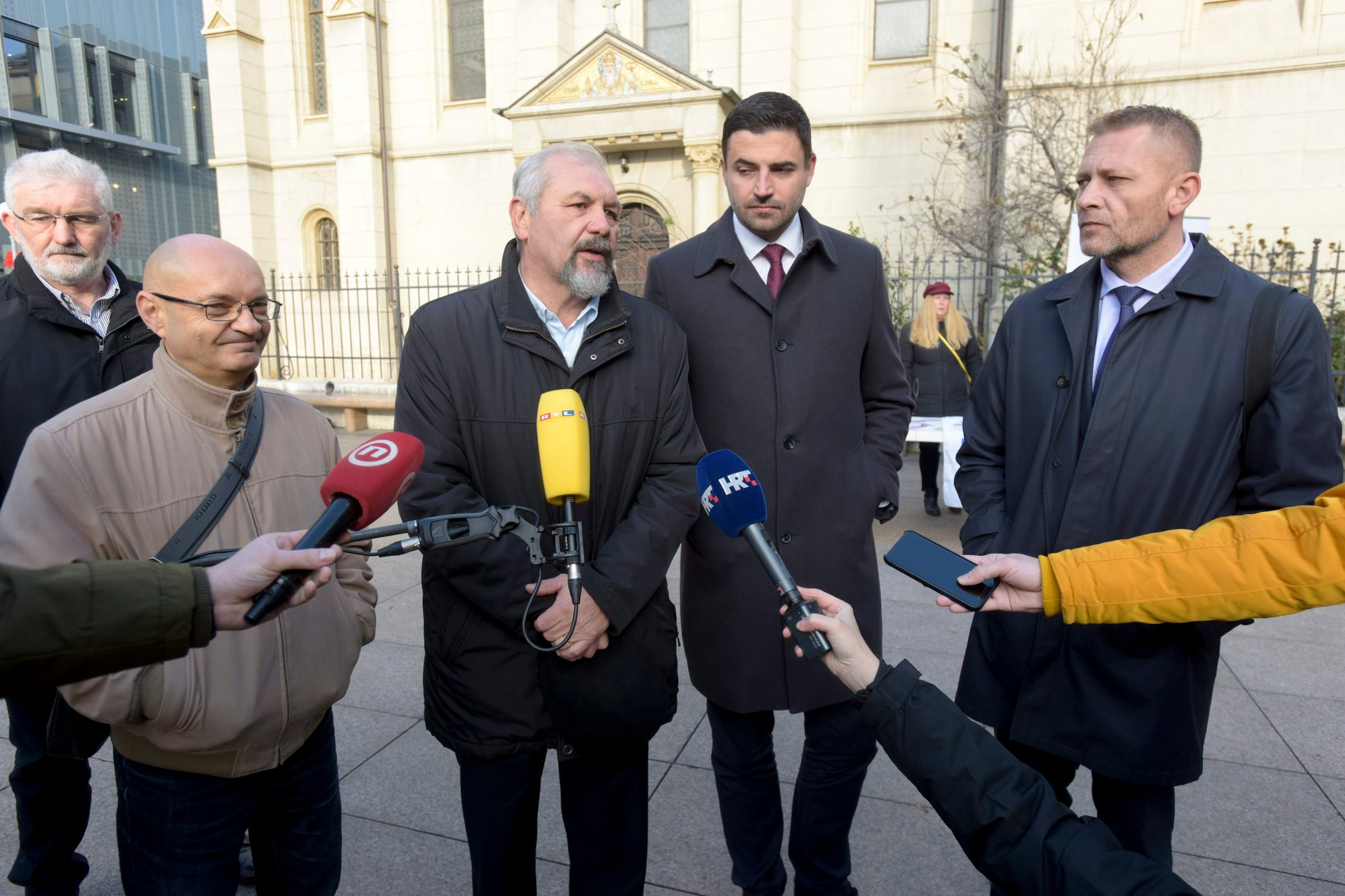 Goran Aleksić, Silvano Hrelja, Davor Bernardić i Krešimir Beljak