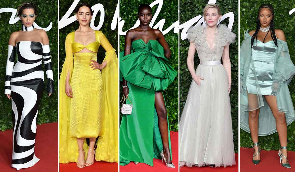Rita Ora, Emilia Clarke, Adut Akech, Cate Blanchett, Rihanna