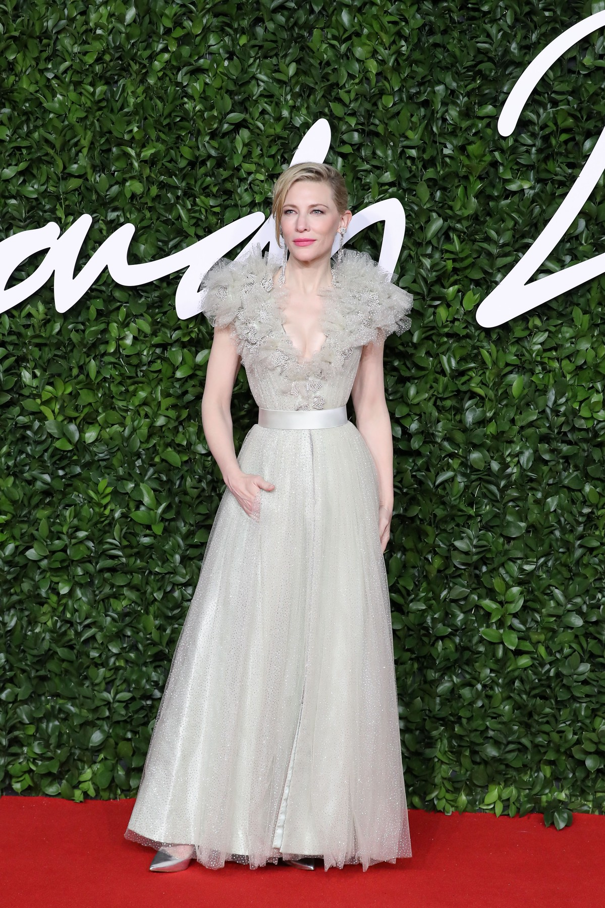 The Fashion awards 2019 take place at the Royal Albert Hall in London. Cate Blanchett attends the red carpet of the British Fashion Awards., Image: 486070363, License: Rights-managed, Restrictions: , Model Release: no, Credit line: Olivier Huitel / Crystal Pictures / Crystal pictures / Profimedia