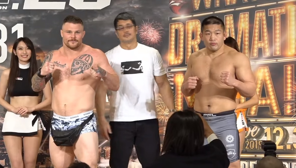 Jake Heun vs. Satoshi Ishii