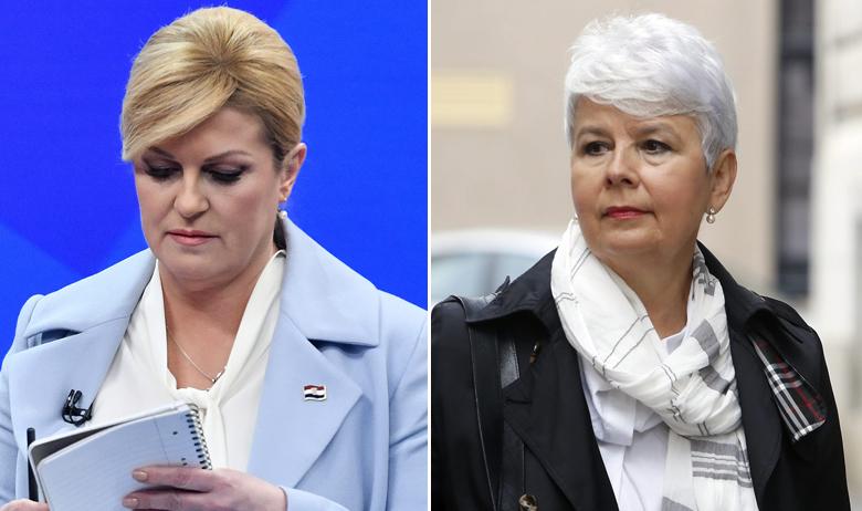 Kolinda Grabar-Kitarović, Jadranka Kosor