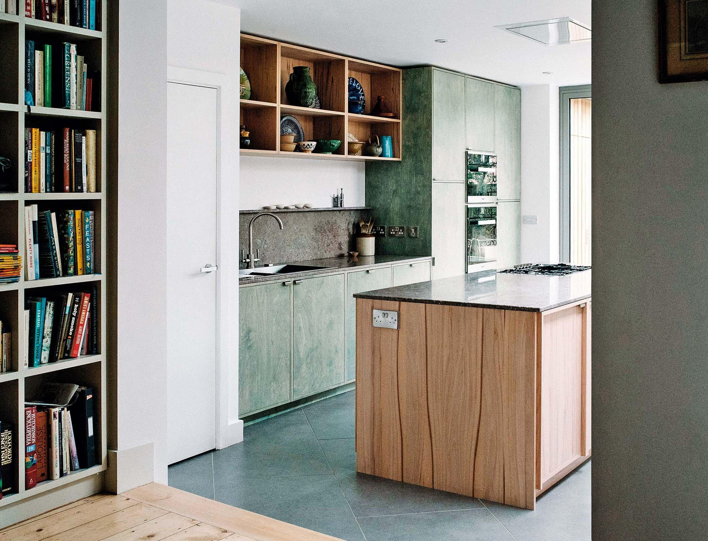 FROM WORKS Kuhinja u obiteljskoj kući inspirirana lokalnim krajolikom
