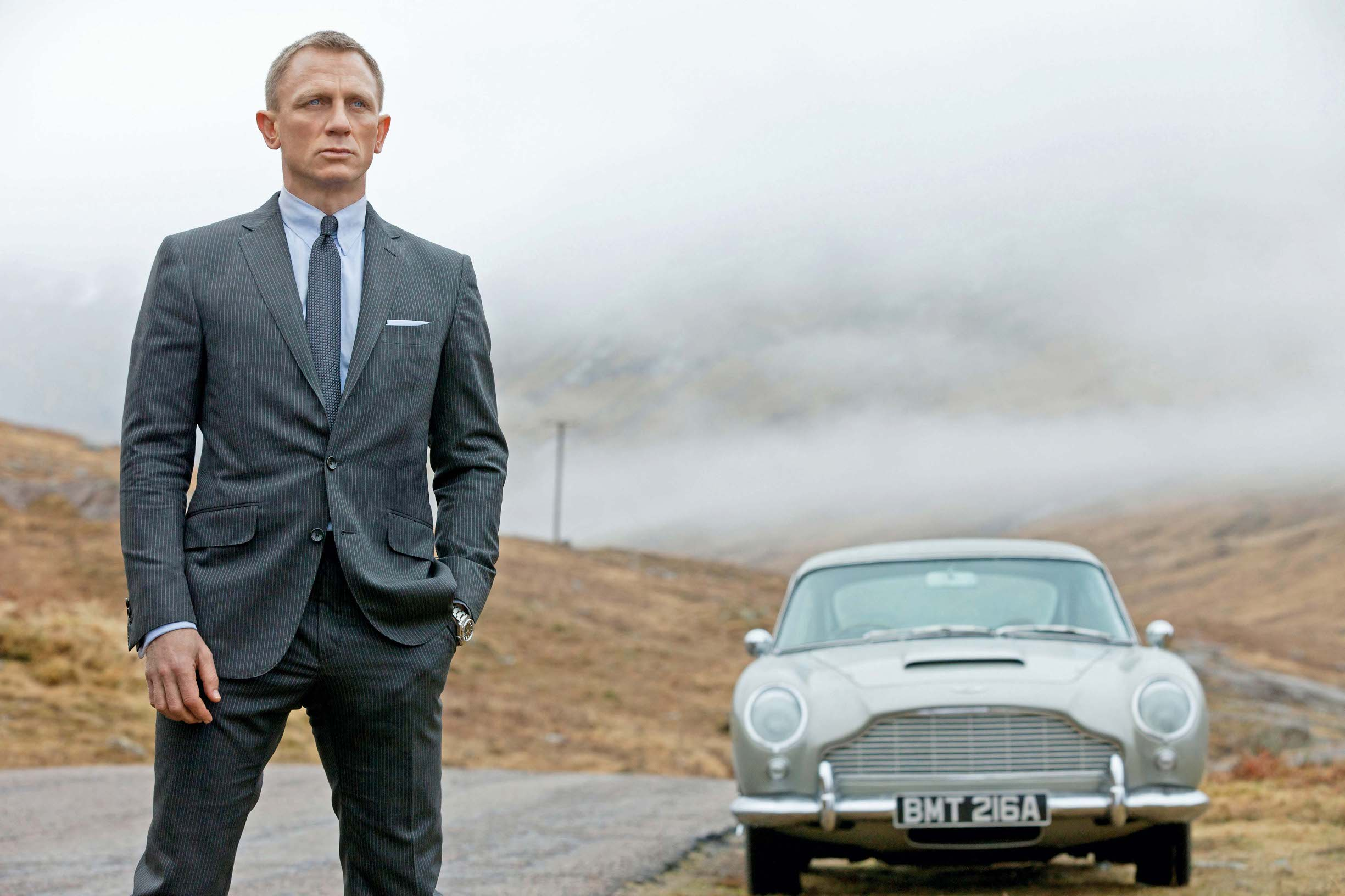 SKYFALL, Daniel Craig as James Bond, 2012. ph: Francois Duhamel/©Columbia Pictures/courtesy Everett Collection