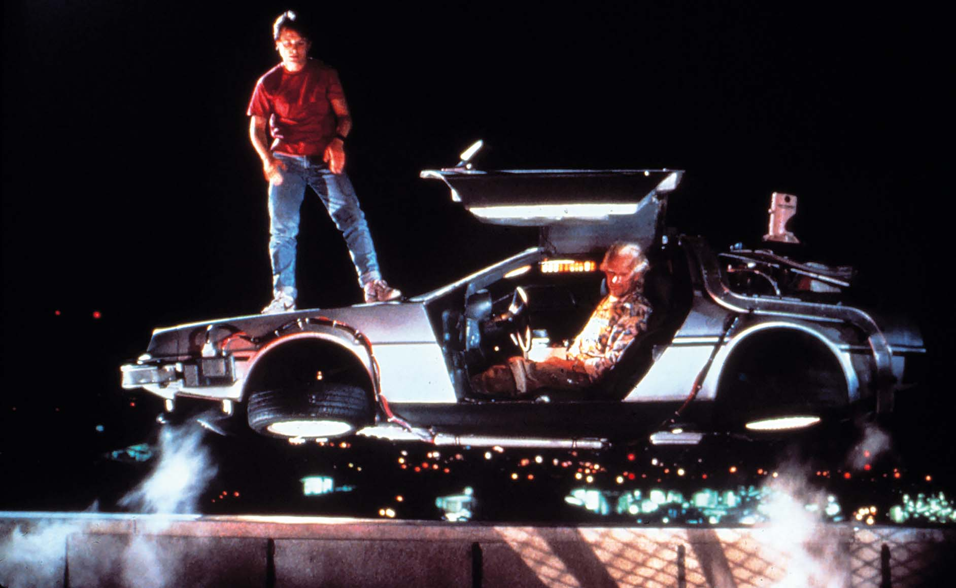BACK TO THE FUTURE PART II, Michael J. Fox, Christopher Lloyd, 1989. (c) Universal Pictures/ Courtesy: Everett Collection.