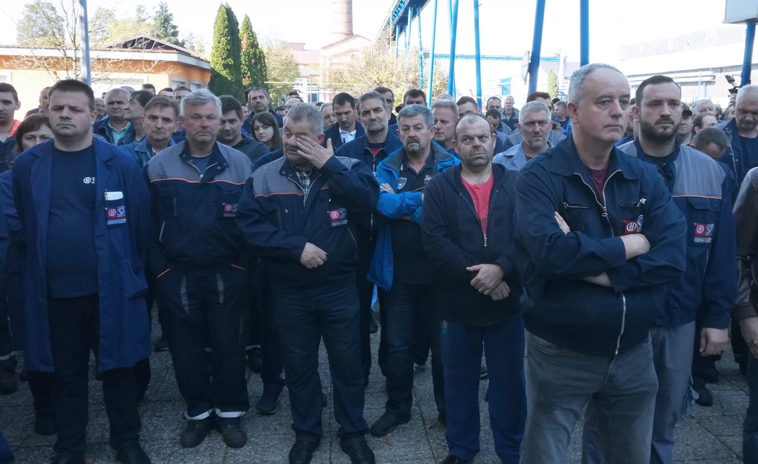 Štrajk oko 700 radnika tri tvrtke grupacije Đuro Đakovic, Specijalna vozila, Industrijska postrojenja