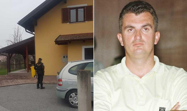 Kuća u Dpnjoj Bistri koju policija pretražuje; Ivan Bašić