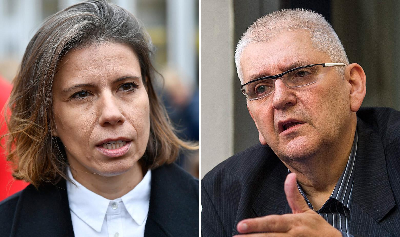 Katarina Peović i Anto Đapić