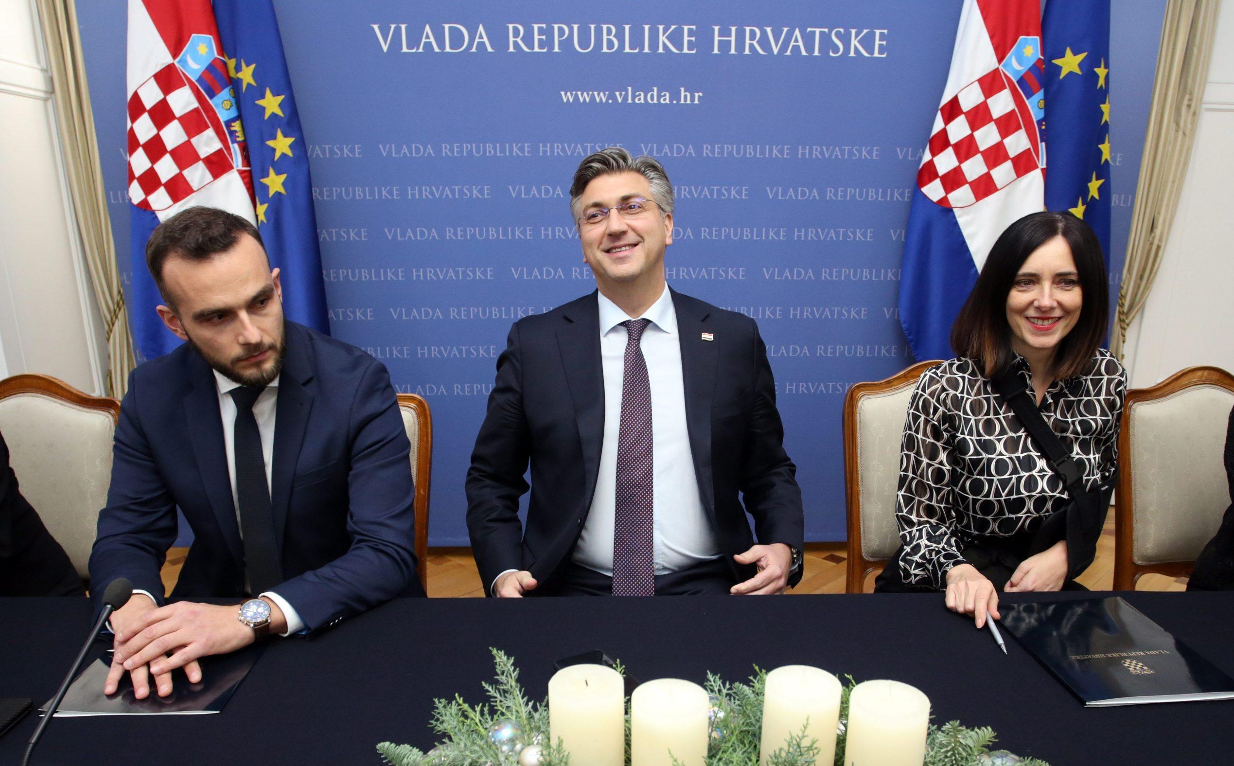Josip Aladrović, Andrej Plenković, Blaženka Divjak