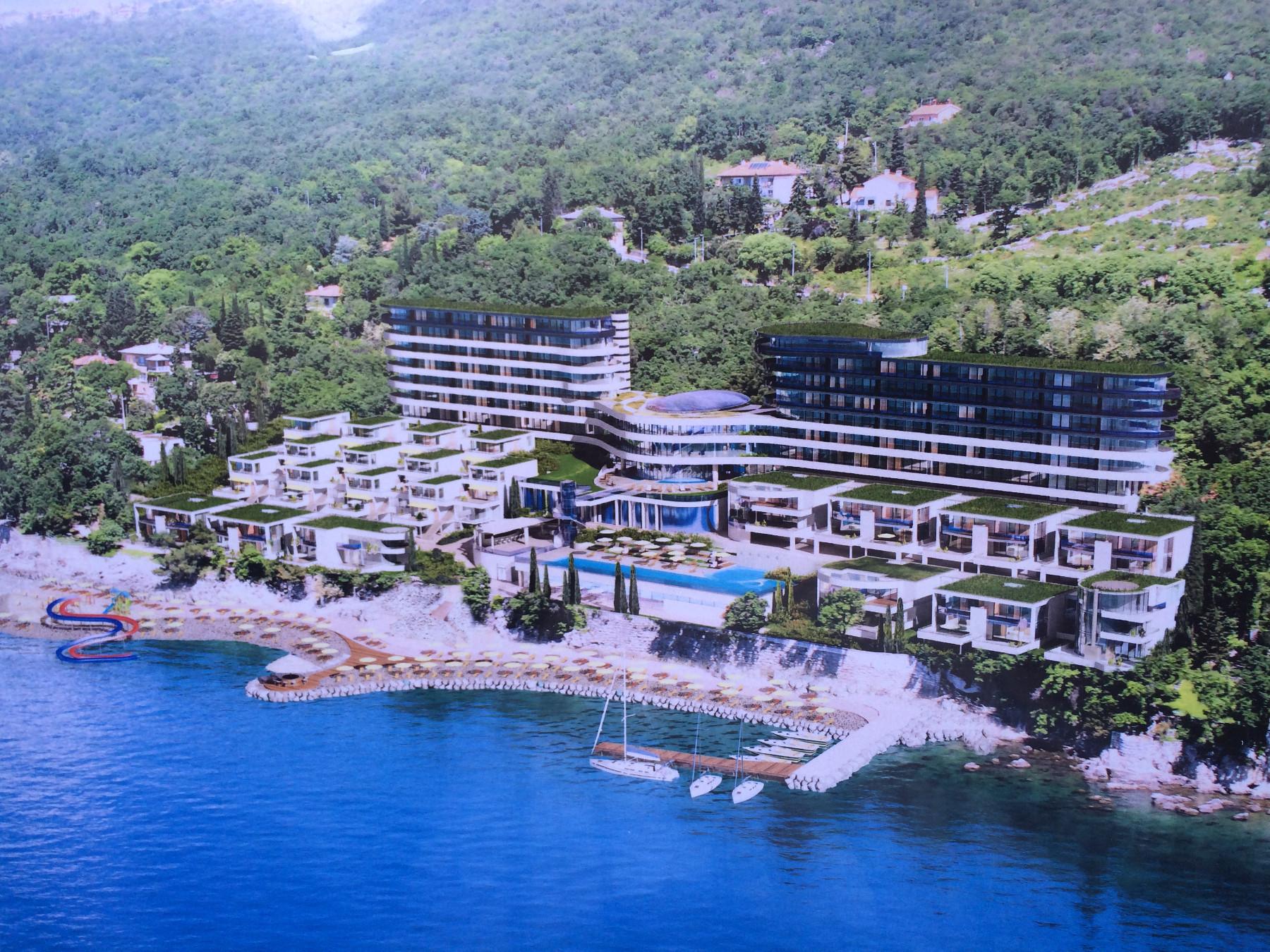 Render riječkog hotelskog kompleksa Costabella