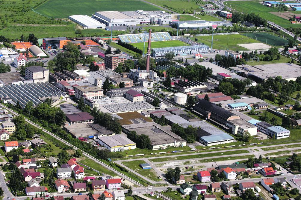 Tvornica Varteksa u Varaždinu