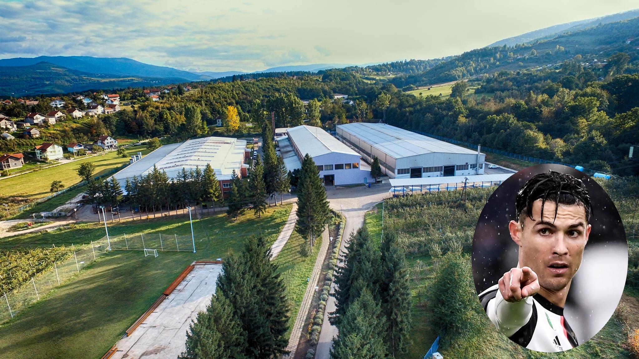 GS - Tvornica mašina Travnik i Cristiano Ronaldo u krugu