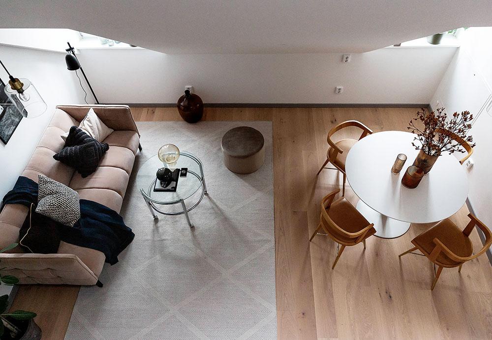 Stan u potkrovlju od 50 kvadrata 1