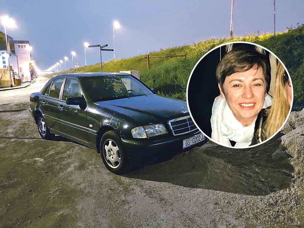 Mercedes Jadranke Skender nađen je uz južni savski nasip