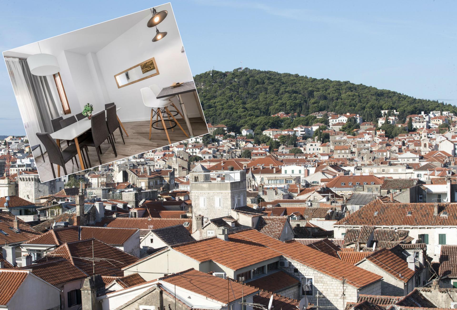 Stan u Papandopulovoj 17 i pogled iz stana
