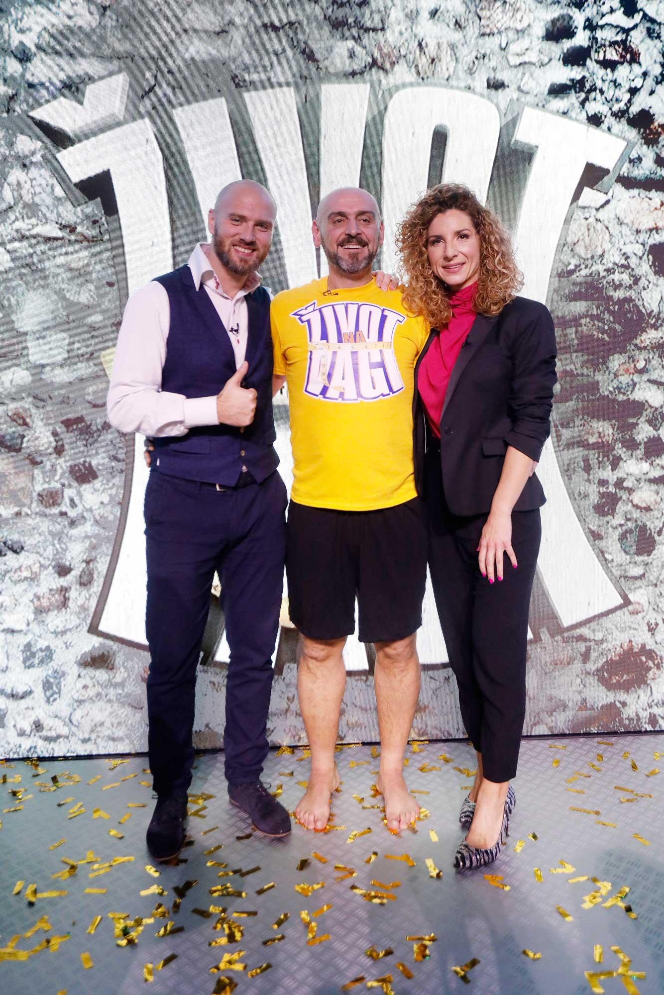 Pobjednik Roko s trenerima Edinom i Majom