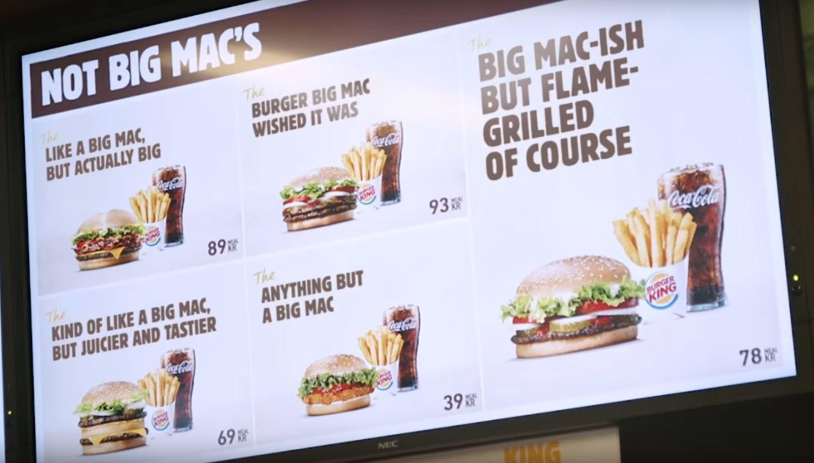 Novi meni u Burger Kingu