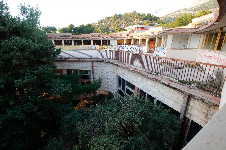 Zgrada bivšeg lječilišta u Krvavici kod Makarske