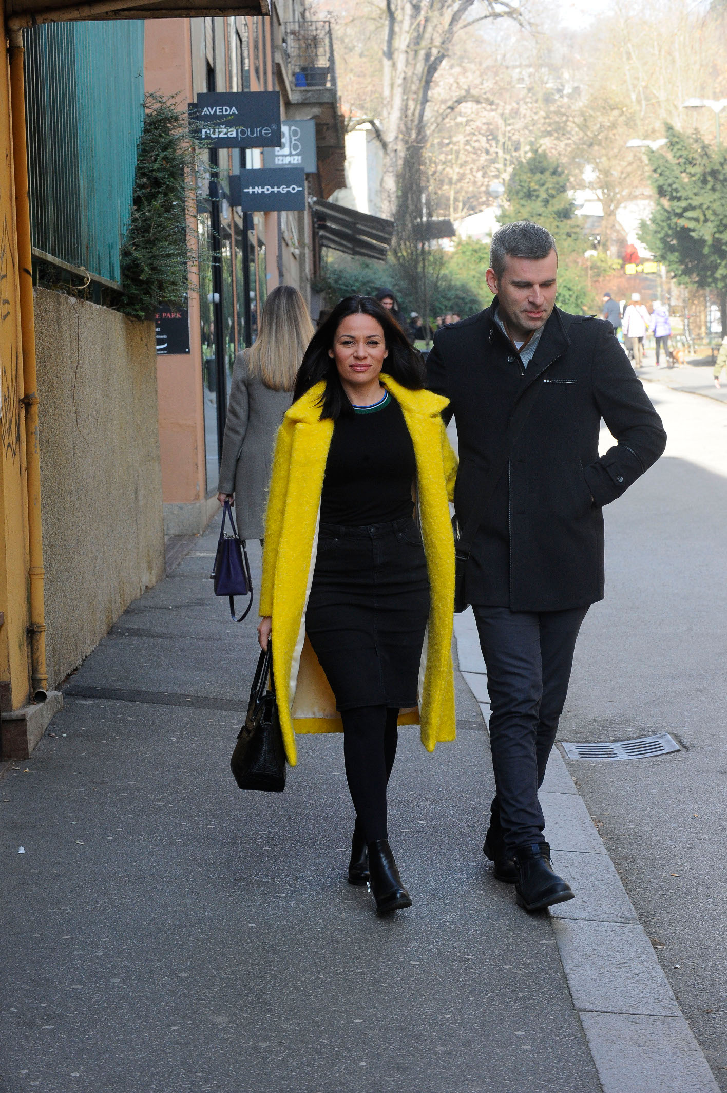 Petar Pereža i supruga Morana