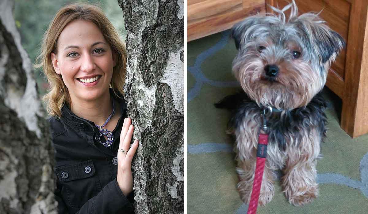 Maja Fišter i psić Rio