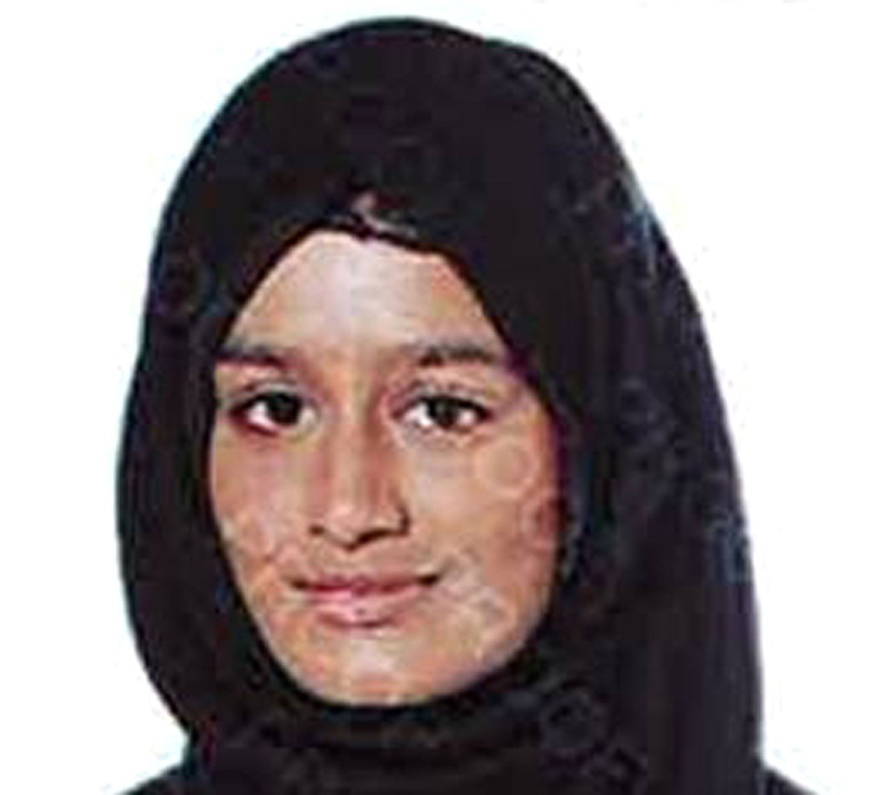 BEST QUALITY AVAILABLE Undated handout photo issued by the Metropolitan Police of east London schoolgirl Shamima Begum, who left Britain as a 15-year-old to join the Islamic State group and is now heavily pregnant and wants to come home., Image: 413783988, License: Rights-managed, Restrictions: FILE PHOTO, Model Release: no, Credit line: Profimedia, Press Association