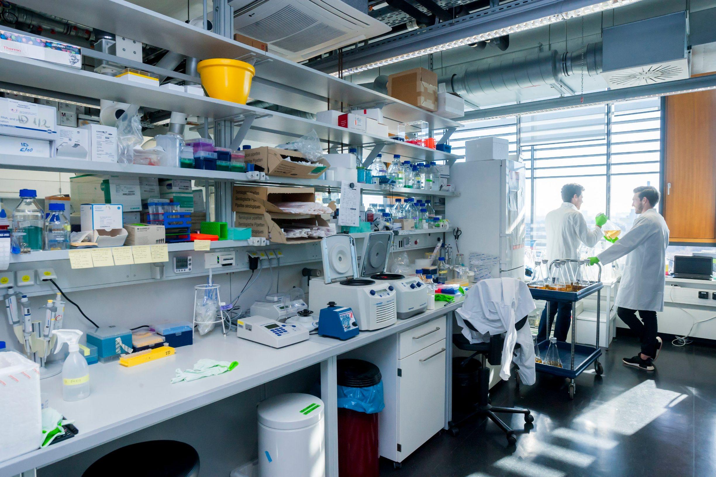 Frankfurt, 130219. BMLS - Buchmann Institute for Molecular Life Science. Na fotografiji: laboratorij. Foto: Tomislav Kristo / CROPIX